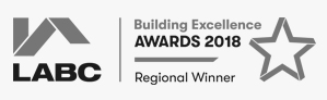 LABC Building Excellence Award Winner 2018